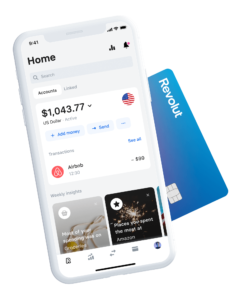 Phone and Card - Online Banking with Virtual Credit Cards – Revolut Review